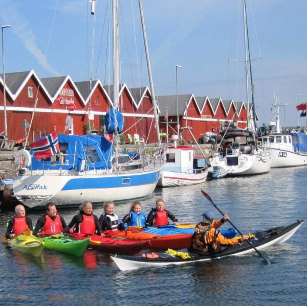 IPP2 Bornholm. Begynderkursus i kajak